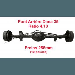 Pont arrière OCCASION Jeep Wrangler YJ 1987-1989 Dana 35C ratio 4.10 - 255mm