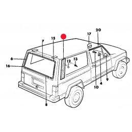 Partie Fixe (côté coffre) - OCCASION - Jeep Cherokee XJ 2 PORTES 1984-01 // 55025789-OCC