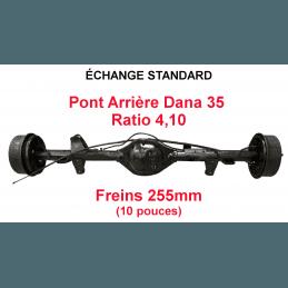 *Pont arrière OCCASION Jeep Wrangler YJ 1987-1989 Dana 35C ratio 4.10 - 255mm