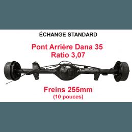 *Pont arrière ÉCHANGE STANDARD Jeep Wrangler YJ 1987-1989 Dana 35C ratio 3.07 - 255mm