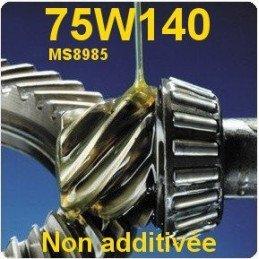 Huile 75W140 pont Ar. et Av. Jeep 100/100 synthèse - spécial traction Jeep / Dodge / Chrysler- Bidon de 2 litres