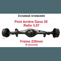 *Pont arrière ÉCHANGE STANDARD Jeep Wrangler YJ 1990-1995 Dana 35C / ratio 3.07 / freins 230 mm