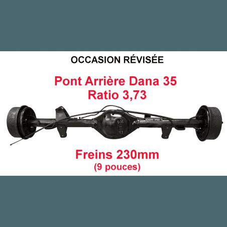 Pont arrière OCCASION Jeep Wrangler YJ 1990-1995 Dana 35C / ratio 3.73 / freins 230 mm