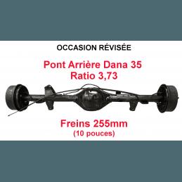 Pont arrière OCCASION Jeep Wrangler YJ 1987-1989 Dana 35C ratio 3.73 - 255mm