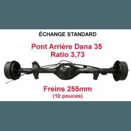 *Pont arrière ÉCHANGE STANDARD Jeep Wrangler YJ 1987-1989 Dana 35C ratio 3.73 - 255mm