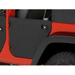 Demi-portes arrière Bestop Jeep Wrangler JK 2007-2018 Noir satiné -- 53041-35