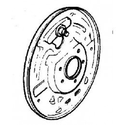 Flasque de frein Arrière Droite - NON ABS, OCCASION - Jeep Wrangler YJ 1990-95 - TJ 1997-06 - Cherokee XJ 1990-2001