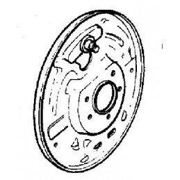 Flasque de frein Arrière Droite, 10 Pouces - OCCASION - Jeep Wrangler YJ 1987-89 -- 83500988-OCC