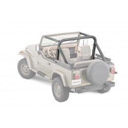 Housse Arceaux Jeep Wrangler YJ 87-90 | Bestop | Tissus Noir