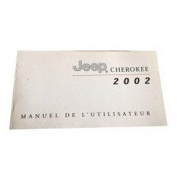 Manuel Utilisateur Jeep Cherokee KJ 2.4L, 3.7L et 2.5L CRD 2002 - OCCASION en très bon état -- manuel-KJ2002-OCC