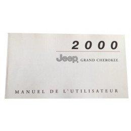 Manuel Utilisateur Jeep Grand Cherokee WJ 3.1L D, 4.0L 6Cyl, 4.7L 8Cyl   2000 - OCCASION -- manuel-WJ2000-OCC