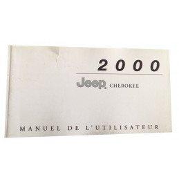Manuel Utilisateur Jeep Cherokee XJ 2.5L Diesel, 2.5L Essence, 4.0L Essence - OCCASION -- manuel-XJ2000-OCC