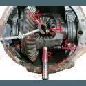 Roulement arrière d'arbre de roue + accessoires - Pont Dana 35C à Clip - Jeep Wrangler YJ,TJ, Cherokee XJ, Grand Cherokee ZJ