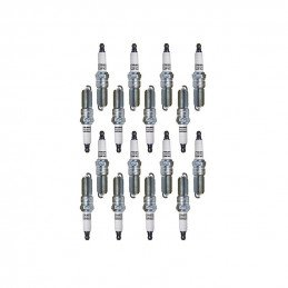 16X Bougies d'allumage ORIGINE CHAMPION Jeep Grand Cherokee WK2 2005-2008 5,7L V8 Commander, Ram, Chrysler // SPRE14MCC4