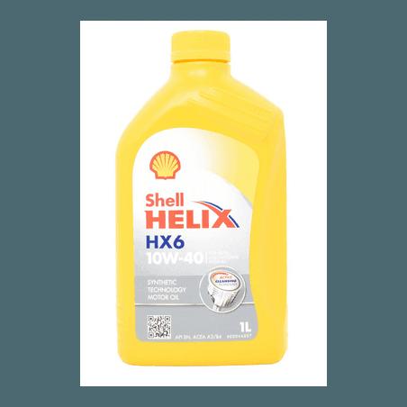 Huile moteur diesel 10W40 Shell Helix HX6 1L -- 600031078