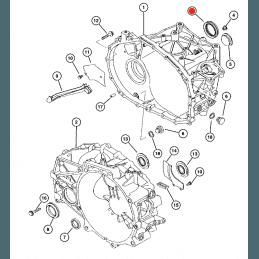Joint Spi avant gauche Boite de vitesse manuelle Jeep Compass 2007-2017 -- 05191357AA