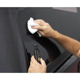 Produits d'entretien et rénovateur pour toutes bâches de toutes Jeep : bikini, soft top, hardtop, vitres vinyl, etc.