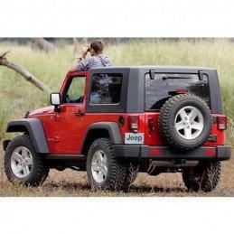 Hard Top complet Origine Jeep Noir - 2 Portes - Jeep Wrangler JK 2007-2013 // 82212541