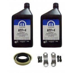 Kit vidange boite de transfert Jeep Wrangler YJ 2 Litres ATF+4 MS-10216 + joint de boite de transfert + Brides de croisillon