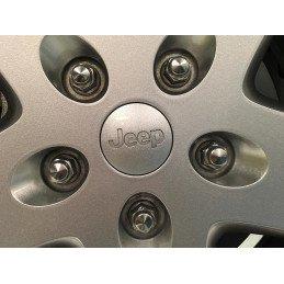 Écrou de roue Jeep chrome