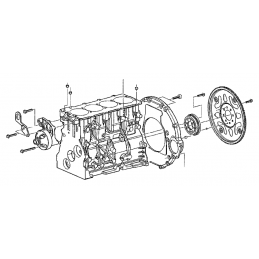 Vis de volant moteur Jeep Cherokee KJ, KK 2,8L CRD 2003-2006 -- K05066753AA