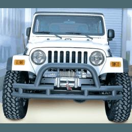 Pare Buffle avant Jeep Wrangler YJ et TJ 1987 à 2006, pare-buffle tubulaire Rugged Ridge