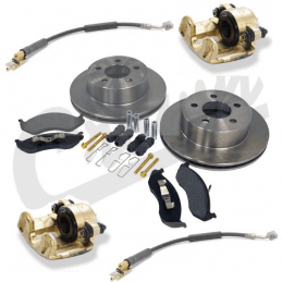 Étrier de frein avant droit / Jeep Cherokee XJ 90-01 / Wrangler YJ 90-95 & TJ 97-06 / Grand-Chero ZJ 93-98 // 5252984