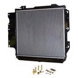Radiateur renforcé, double rangée alu - Jeep Wrangler YJ 2.5L, 4.0L, 4.2L 1987-95 / TJ 2.4L, 2.5L, 4.0L 1997-06//52080183
