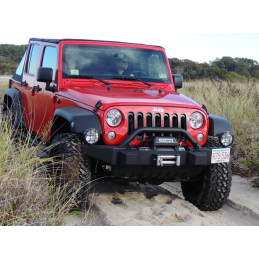 Pare-choc avant Jeep Wrangler JK, avec pare-buffle