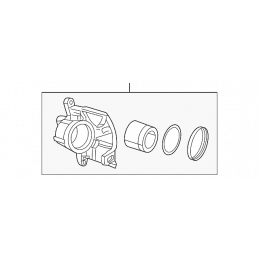 Etriers de freins Avant Droit - Jeep Wrangler JK 2007-2018 / Cherokee KK 2008-2012 // 68044863AA