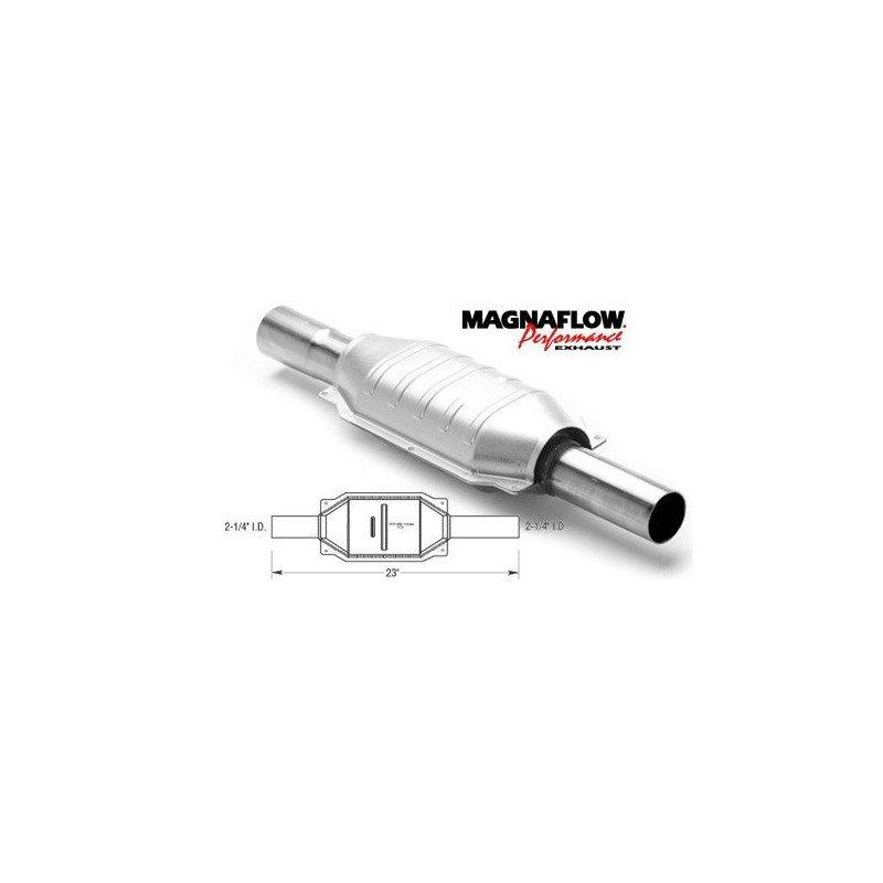 Pot catalytique Magnaflow Performance - Jeep Wrangler YJ - Cherokee XJ - Grand-Chero ZJ - 2.5L 4.0L 93-95 // MGF-23221