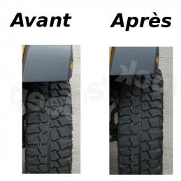 élargisseurs de voie pour Jeep Wrangler YJ