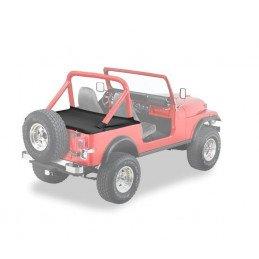 Couvre benne Jeep Wrangler de 1980 à 1991, Noir jean, BESTOP
