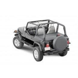 Couvre Benne  Noir Denim - Jeep Wrangler YJ 1987-1991 // TN10215