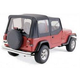 Bâche de remplacement Jeep Wrangler YJ, Noir jean