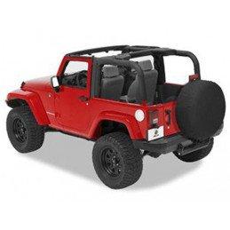 Housse Arceaux Jeep Wrangler JK 2 portes, Noir Vinyl