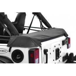 Couvre Benne Jeep Wrangler JK baché, 4 portes , Noir vinyl