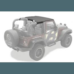 Bikini Jeep Wrangler JK de 2007 à 2009 , Noir vinyl