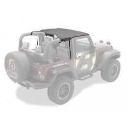 Bikini Jeep Wrangler JK de 2010 à 2018 , Noir vinyl
