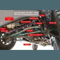 4b - Barre de direction complète Jeep Wrangler JK 2007-18 -- 52060049K