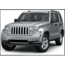 Optique de Phare avant Jeep Cherokee KK, Gauche, Anti-brouillard