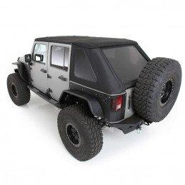Bâche Jeep Wrangler JK 4 portes, Vitres teintées, Noir Vinyl
