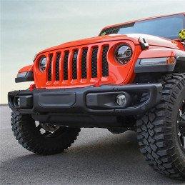 Pare-chocs avant Jeep Wrangler JL, Freedom X, noir