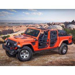 Demi-portes Jeep Wrangler de 2018 à 2020, Portes tubulaires