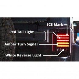 Feux arrière LED Jeep Wrangler JK Europe J.W Speaker