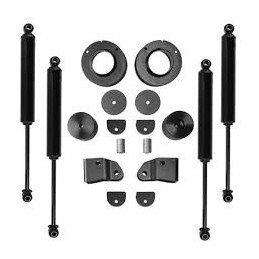 * Kit suspension Jeep Wrangler JL , rehausse +50mm , Rubicon Express , Avec amortisseurs