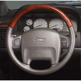 Volant cuir & Bois origine Jeep Grand-Cherokee WJ 1999-2004 // 5GV251DVAD