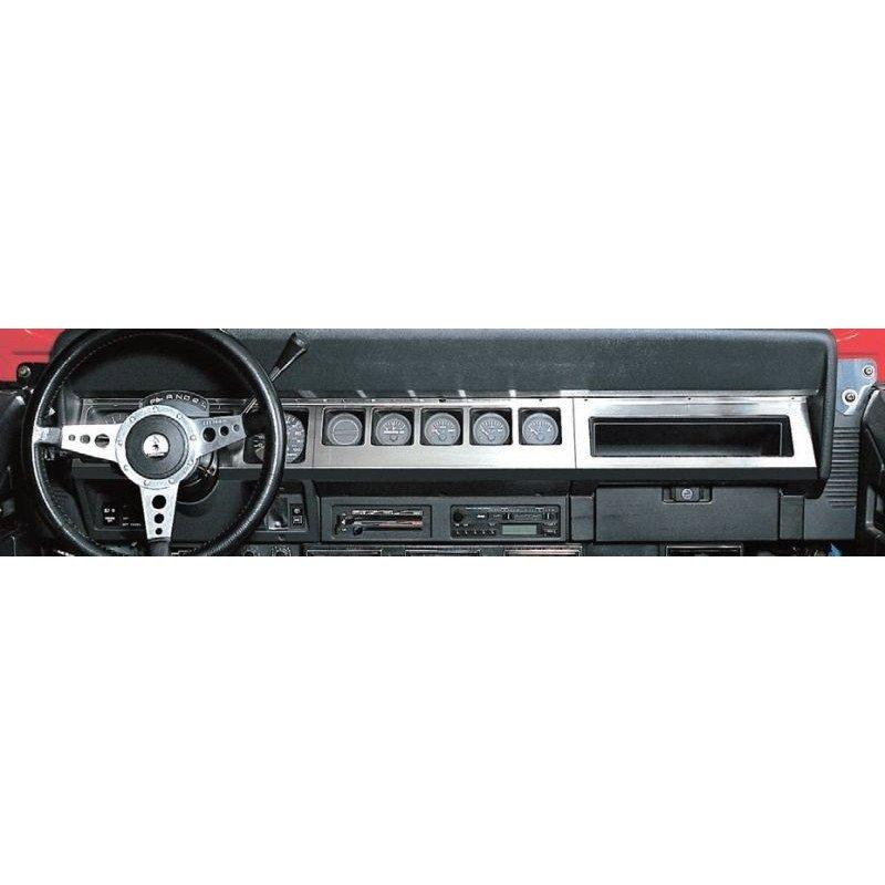 Enjoliveur de tableau de bord Inox Jeep Wrangler YJ 1987-1995 // RT34042