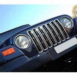 Insert de calandre - chrome - Jeep Wrangler TJ 1997-2006 // RT26042