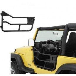 Demi-portes tubulaires Jeep Wrangler YJ 1981-1995 / CJ 1976-1985 - 2x Portes Droite + Gauche, BESTOP High-Rock // 51808-01